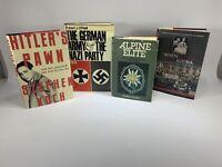 4 HC DJ Books on Nazi Germany: Hitler's Pawn, Army & Party, Alpine Elite, MORE
