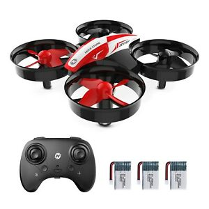 Holy Stone Mini Drone HS210 3D Flip RC Helicopter Quadcopter For Kids + 3Battery