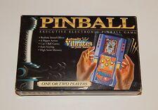EXCALIBUR VIBRATING PINBALL HANDHELD ELECTRONIC TRAVEL GAME IN BOX R8271