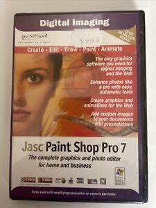 JASC PAINT SHOP PRO 7 SOFTWARE FOR WINDOWS Sealed