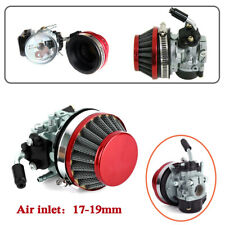 17-19mm Carburetor Carb Air Filter Fit For 49cc 80cc Motorized Motor Engine Kit