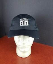 Organic Valley Hat Fuel velcro back Champion Cap black farm farming health