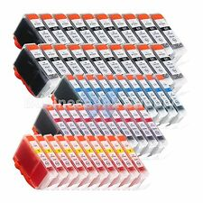 50 PK PGI-5 CLI-8 Ink Tank for Canon PIXMA MX700 IP3300 IP3500 PGI-5 CLI-8 CMY @