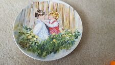 Wedgewood Vintage 1981 Be My Friend Mary Vickers Collector Plate by Queens Ware