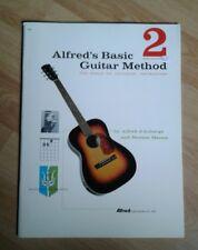 Alfred's basic guitar method book 2 Paperback 1959