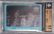 1997-98 Upper Deck Diamond Vision David Robinson bgs 9.5