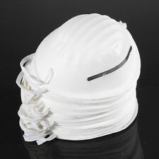 10 Pcs Dust Mask Antidust Clean Molded Filter Mouth Respirator Disposable Safety