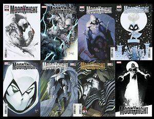 Moon Knight 1 8 Copy Set (All Directs) 7/28/21 Dell'Otto Romita Zaffino Gist