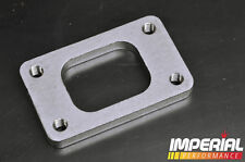 T3 turbo flange / spacer - TAPPED BOLT HOLES - 12mm stainless steel