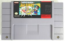 SUPER NINTENDO 'SUPER MARIO AL*STARS' GAME CARTRIDGE W/INSTRUCTION BOOK -WORKS!