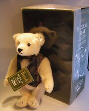 Steiff Harrods First Musical Bear Limited Edition Collectible Fully Jointed