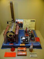 Dampfmaschine Wilesco D24 mit Zubehör / 70er Jahre / Selten.