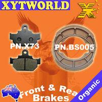 FRONT REAR Brake Pads Shoes for Suzuki VL 250 Y K Intruder 2001-2007