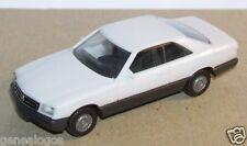 MICRO HERPA HO 1/86 1/87 BMW 560 SEC BLANCHE