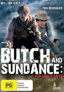 Butch And Sundance - The Early Days DVD_Tom Berenger Western Movie
