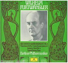 Beethoven: Piano Concerto N. 4 / Gonrad Hansen, Furtwangler, Berliner - LP DGG