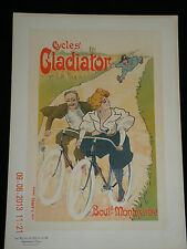 MAITRES DE L'AFFICHE : MISTY - Pl. 86 : CYCLES GLADIATOR