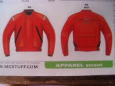 """Teknic """"Sirocco"""" Men's Size 52 Red Riding Jacket-$329"""