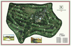 The Stanwich Club - 1963 - Wm Gordon -  Vintage Golf Course Maps print
