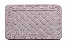 Extra Large Memory Foam Luxurious Anti-slip Mat Super Soft Bathroom Rug Purple