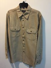 Covington Microsuede Long Sleeves Medium Shirt