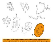 Buick GM OEM 12-17 Regal Rear Brake-Rotor 23118533