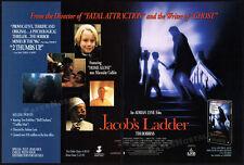 JACOB'S LADDER__Original 1991 Trade print AD promo__TIM ROBBINS__ELIZABETH PENA