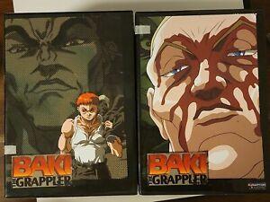 Baki the Grappler: Original Complete Series   Box Sets 1&2    (Anime, DVD)