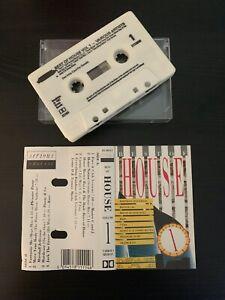 BEST OF HOUSE - VOLUME 1 (RARE 1987 UK CASSETTE TAPE)