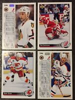 1992-93 Upper Deck Hockey Singles 500-640**Select from List*Buy 5+=Free Shipping