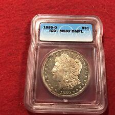 1880o  ICG  Graded MS62 DMPL MORGAN SILVER DOLLAR
