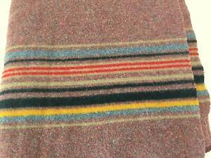 Pendleton Multicolor Striped Wool 67x50 Throw