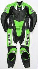 Top BERIK Moto Fun Gr. 52 Zweiteiler Lederkombi schwarz grün weiß
