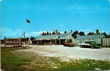 Postcard Chippewa Totem Village