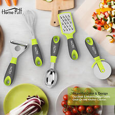 BPA Free Kitchen Utensil Cooking Gadgets 5 Pcs Set Stainless Steel Cooking Tools