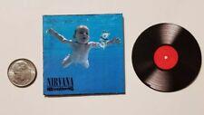 "Miniature record Barbie  1/6  Figure  Playscale Nirvana Nevermind 2"" Kurt Cobain"