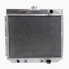 4Row Aluminum Radiator for 1964-1967 Ford Galaxie /63-68 Ford Country Sedan top