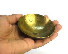 Rare Old Vintage Bronze Chakra Healing Medicinal Bowl Nice Collectible G27-65 Us