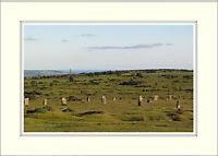 007 Bodmin Moor Tor Mine Cornwall England Mounted Photo Print 16 x 12 Inch