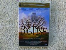 Big Fish (Dvd, 2004 Ws) 1st Class Shipping * New / Sealed *