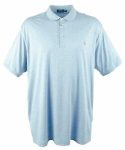 🔥  Brand New Big & Tall Classic Fit Ralph Lauren Polo Shirt Size XLT $98 🔥