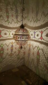 Moroccan Lamp Pendant Light Brass Moroccan Lampshades New Home Decor Lighting