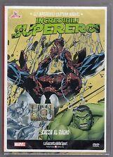 dvd INCREDIBILI SUPEREROI Numero 18 Caccia al ragno