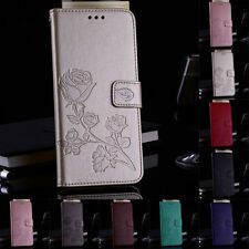 Luxury Magnetic Flip Cover Wallet Leather Case For Huawei Y3 Y5 Y6 GR5 2017
