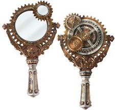Victorian hand held mirrors Rose Gold Alchemy Gothic Lady Talbots Retrospector Hand Mirror Victorian Steampunk Decor Ebay Collectable Hand Mirrors Ebay