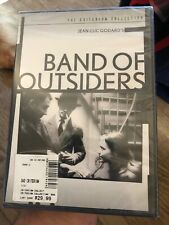 Band Of Outsiders DVD (2013 Criterion Collection) **NEW/SEALED** Jean-Luc Godard