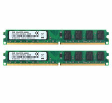 @9 2X 2GB 4GB 2Rx8 PC2-6400 DDR2 800Mhz 240 Pin Memory Desktop RAM DIMM Tested