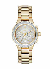 NEW DKNY NY2395 Chambers Gold Stainless Steel Women's Watch