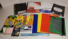 New Back to School Supplies Kit Bundle Pack Set Grade K 8 Paper Markers