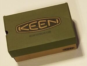 """Keen EMPTY Shoe Box Womens Size 7.5 With Tissue Green/Tan 11.75"""" x 7.5"""" x 4.75"""""""